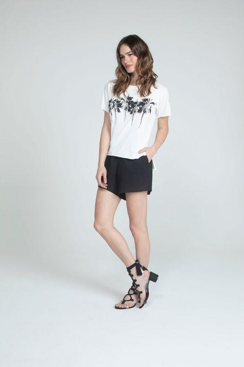 Camiseta MC Soma Off White - Andrea Bogosian