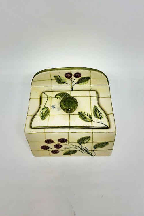 Saleiro em cerâmica pintado a mão - Framboise