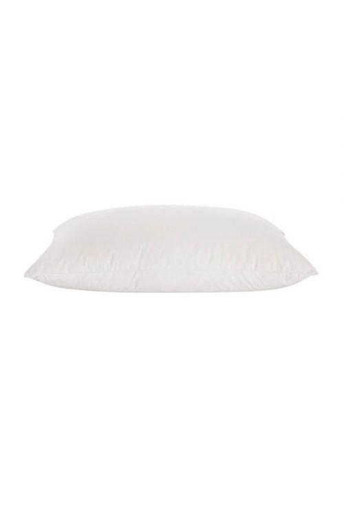 Travesseiro 233 Fios 100% Pluma de Ganso Branco 50cm x 90cm