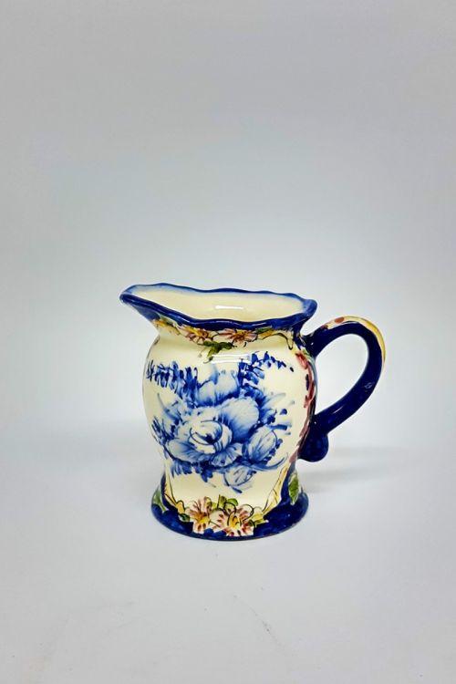 Cremeira em cerâmica pintada a mão - Madalena