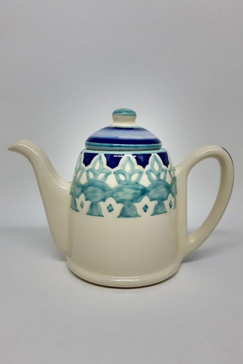 Bule em cerâmica pintada a mão G - Amalfitana