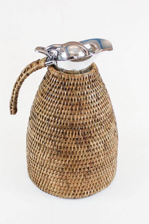 Garrafa Térmica em rattan Paya 1.5L