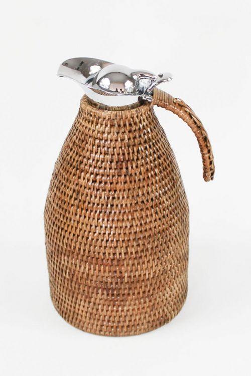 Garrafa Térmica em rattan Paya 2.0L