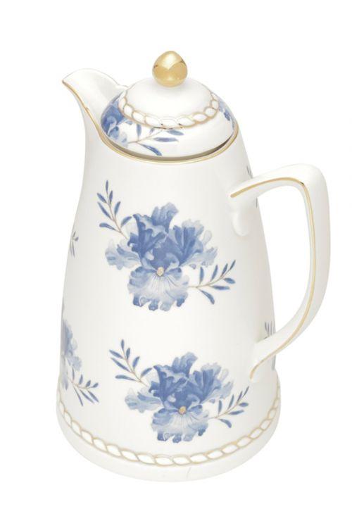 Garrafa Termica de Porcelana Floral