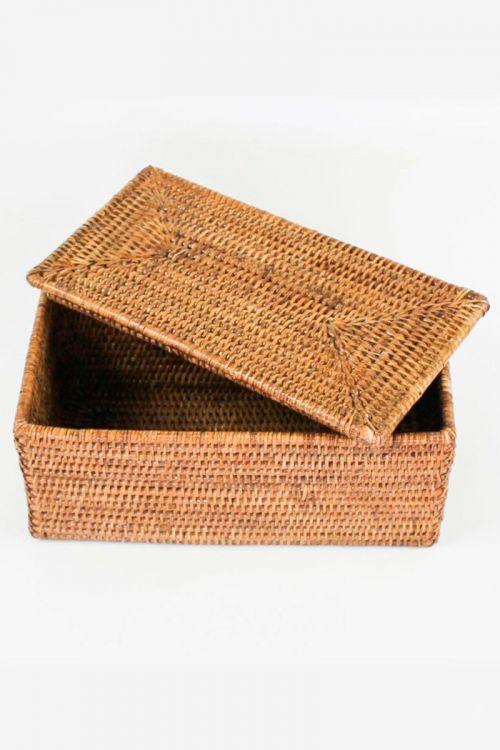 Caixa em rattan Mandalay 30 cm