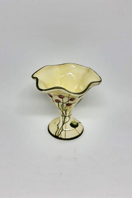 Taça de sorvete em cerâmica pintada a mão - Framboise