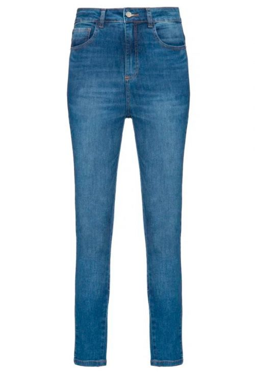 Calça Jeans Skinny Sofia Azul - Carol Bassi