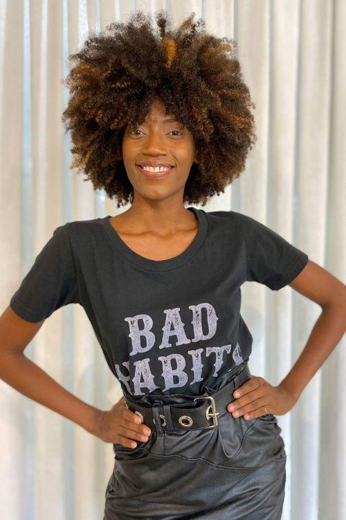 T-Shirt Monique - Preta
