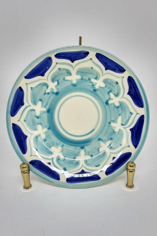 Prato de Sobremesa em cerâmica pintado a mão - Amalfitana