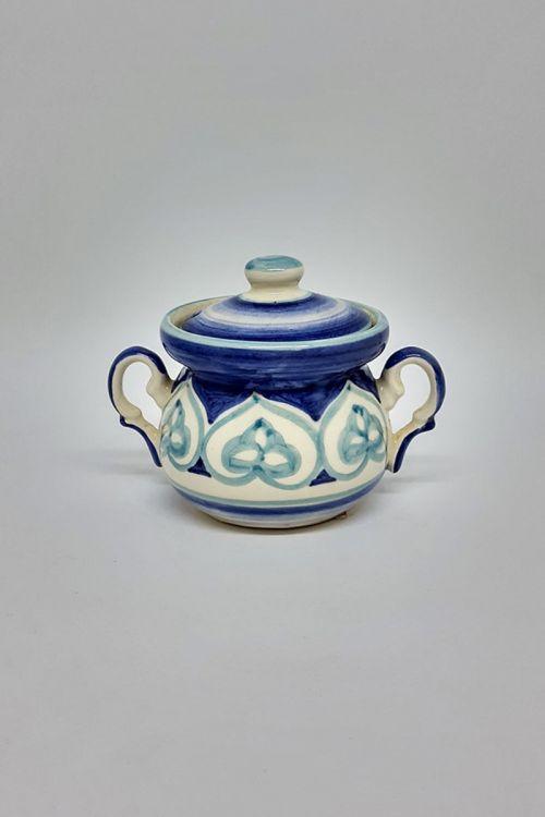 Açucareiro em cerâmica pintado a mão - Amalfitana
