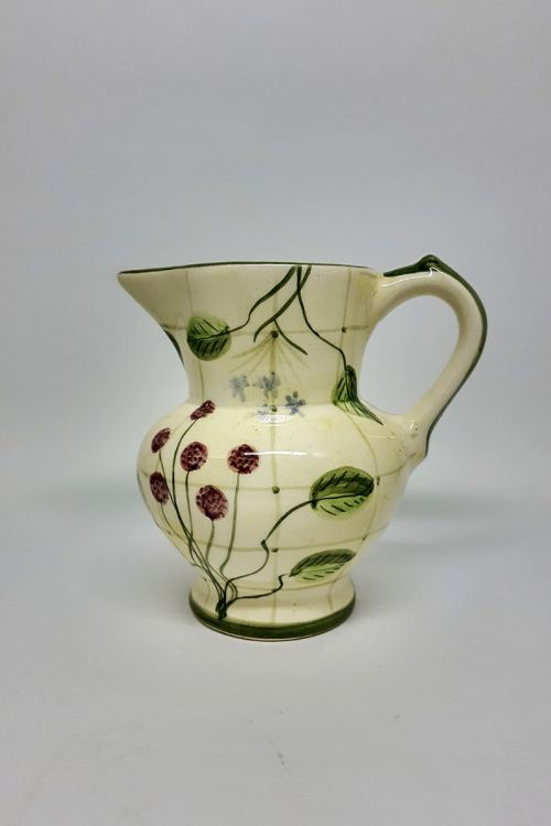 Jarra Classica em cerâmica pintada a mão - Framboise