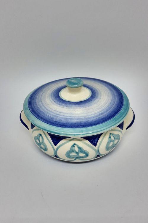 Farinheira em cerâmica pintada a mão - Amalfitana
