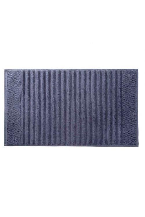 Toalha de Piso 100% Algodão Ondulato Blu 48cm x 80cm