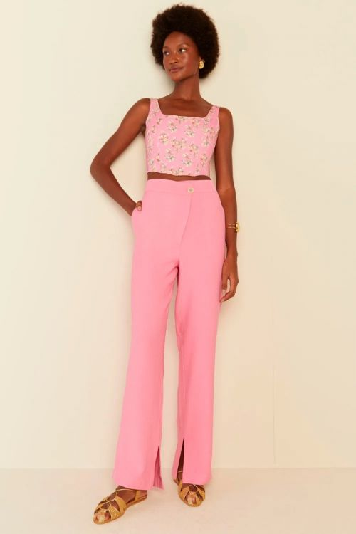 Calça  Rosa Pink - Le Blog
