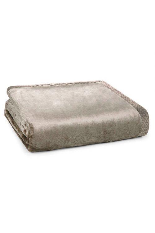 Cobertor Queen 100% Microfibra Aveludado Piemontesi Fendi 240cm x 260cm