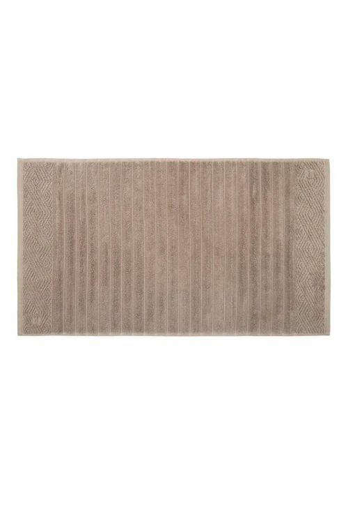 Toalha de Piso 100% Algodão Ondulato Legno 48cm x 80cm