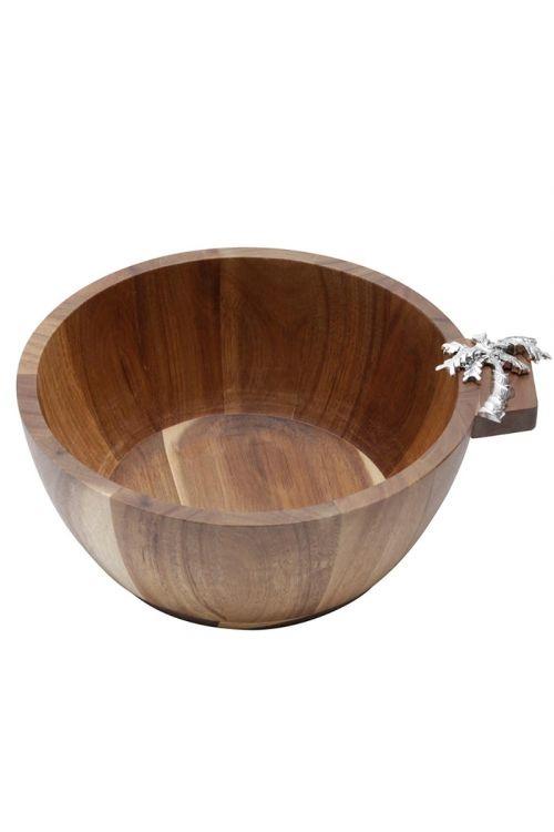 Bowl de Madeira - Palmeira Zamac