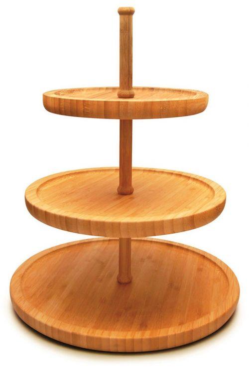 Stand Cake Triplo Tyft Bambu