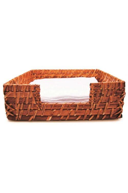 Porta-Guardanapo quadrado em Rattan Tyfy Organic