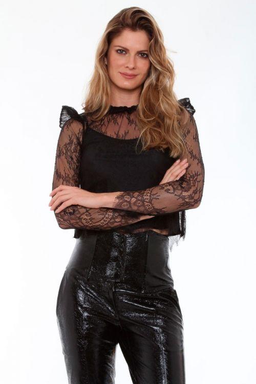 Blusa Ryn Couture - Preto
