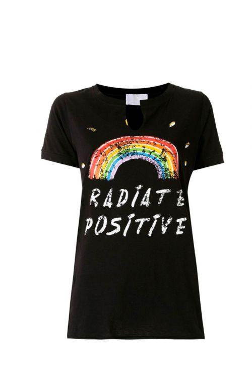 Camiseta MC Saturday Preta - Andrea Bogosian