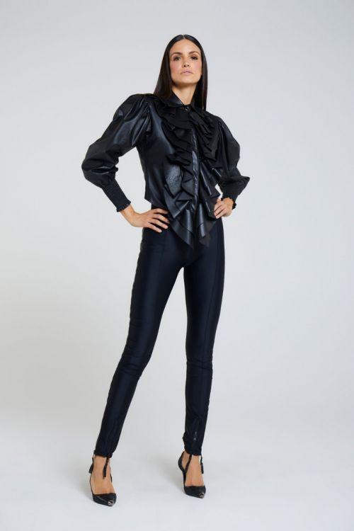 Calça Skinny Volture Black - Andrea Bogosian
