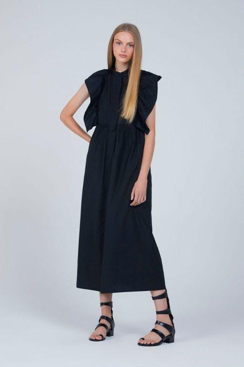 Vestido Longo Adlay Couture Preto - Andrea Bogosian