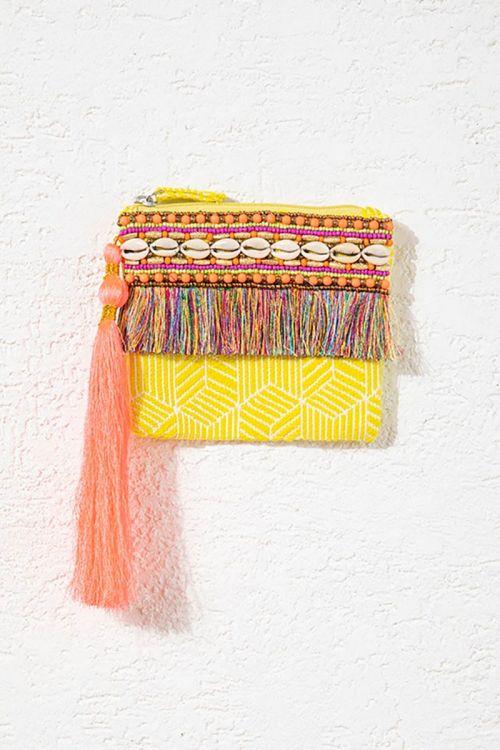 Bolsa Carmel Amarela - Nammos