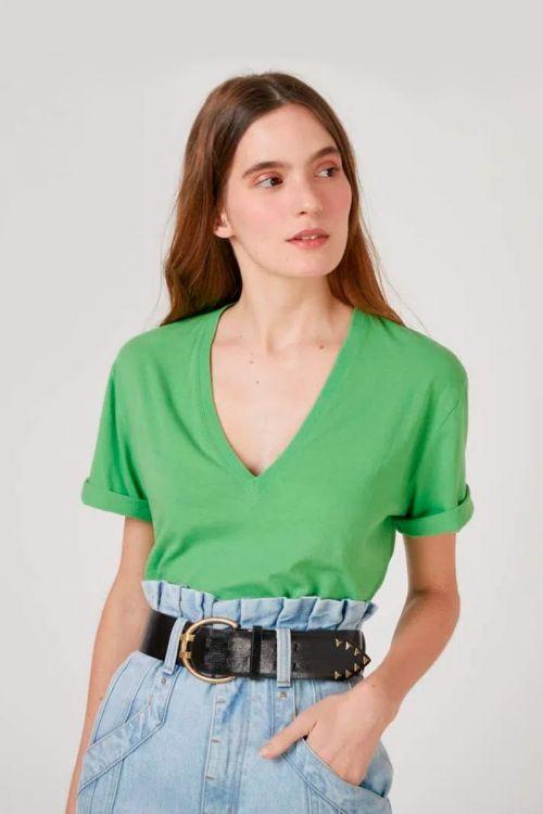 Camiseta Estampa Costas Nash Verde - NK