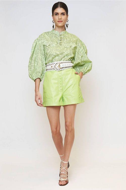 Shorts Mestiço Barb Verde - NK