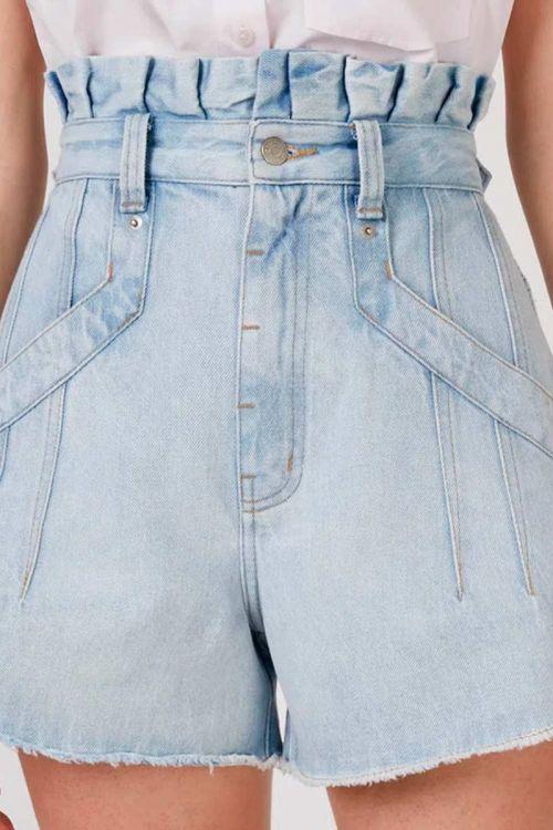 Shorts Jeans Clouchad Flavia Azul Claro - NK