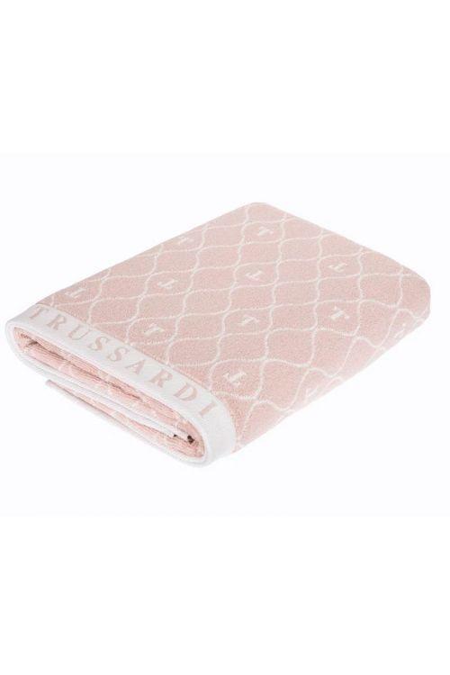 Toalha Banhão Jacquard Fio Tinto Speciale Soft Rose/Branco 86cm x 160cm