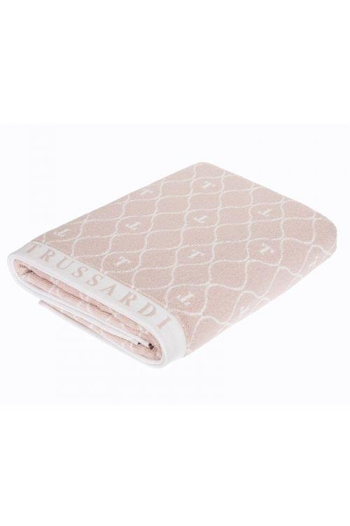 Toalha Rosto Jacquard Fio Tinto Speciale Soft Rose/Branco 48cm x 90cm