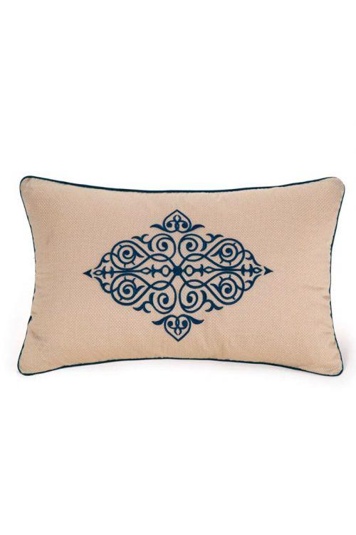 Almofada para Cama 300 fios Cetim Villa Melzi - Egipcio Bege 30cm x 50cm